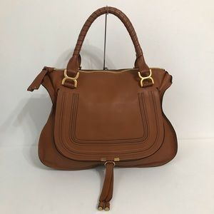 Authentic Chloe Large Marcie Nut